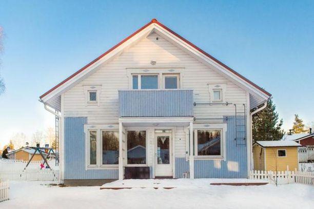 Vantaan Jokivarressa 117 neliön erillistalo on myynnissä 295 000 euron hintaan.