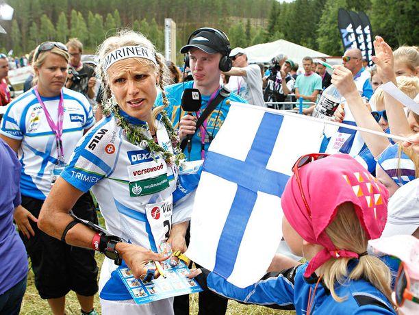 Neljäs sija MM-suunnituksen pitkällä matkalla oli kova pala Minna Kaupille.