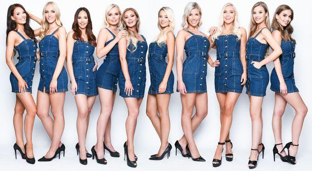 Miss Suomi -finalistit kisaavat tänään voitosta Billnäsin ruukilla.
