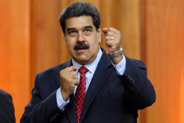 Nicolás Maduron jatko presidenttinä on vaakalaudalla.