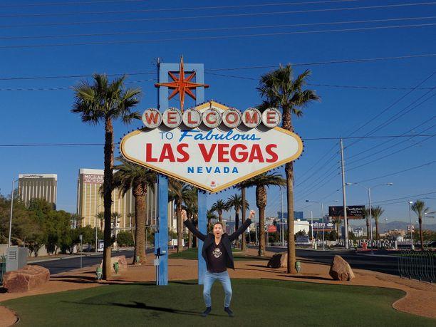 Las Vegas otti minut ilosylin vastaan omalle pikku feikkilomalleni.
