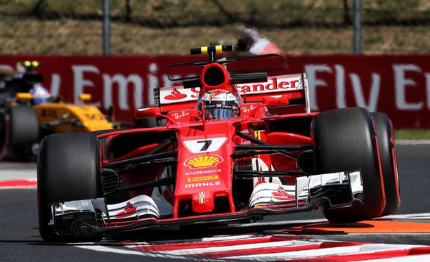 Kimi Räikkönen oli kohtuullisen tyytyväinen perjantain antiin.