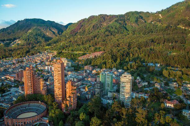 Kaivos on lähellä pääkaupunki Bogotaa.