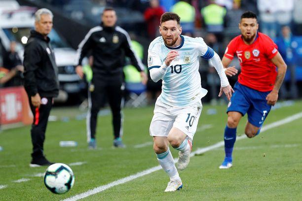 Lionel Messi on lomaillut Copa American jälkeen.