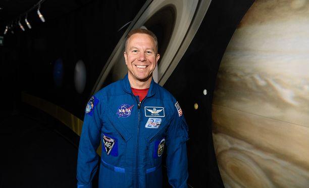 Kuussa kävely oli aikanaan sytyke, joka sai Timothy Kopran tavoittelemaan uraa astronauttina.