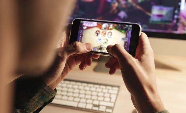 Mobiilipelien suosio on kasvanut merkittävästi.