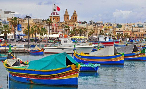 Maltalle pääsisi reilulla kolmellasadalla.
