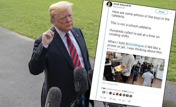 Donald Trump on syyttänyt valheellisesti demokraatteja hallintonsa käytännöstä erottaa lapset vanhemmistaan maan rajalla.