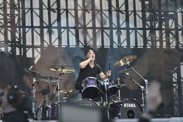 Metallica on esiintynyt Suomessa monta kertaa.