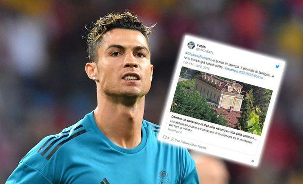 Cristiano Ronaldon huhutaan olevan kuuluisan lukaalin seuraava tähtiasukas.