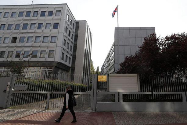 Pohjois-Korean Berliinin suurlähetystö.