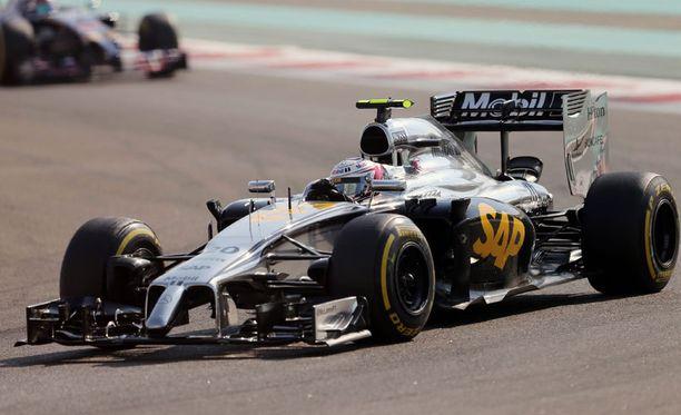 McLaren on hylkäämässä hopeakuosin.