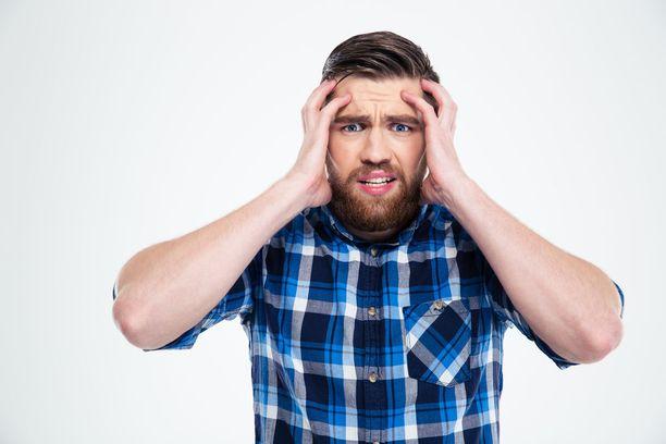 Riski sairastua vyöruusuun oli tutkimuksen perusteella noin kaksinkertainen miehillä, jotka kärsivät oman arvionsa mukaan kovasta stressistä.