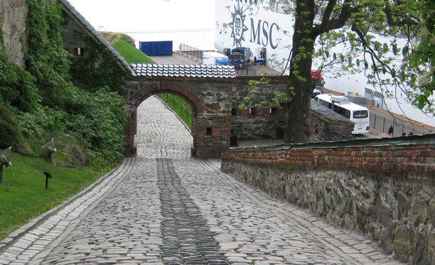 Näkymää Oslosta.