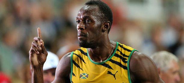 Usain Bolt toivoi parempaa aikaa.