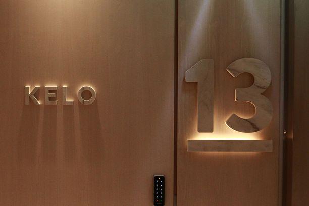 Haawe-hotellin jokaisella huoneella on oma nimensä ja tarinansa. Sisustus on teeman mukainen.