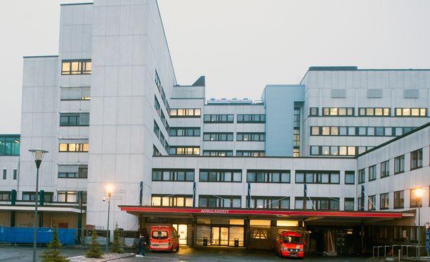Tampereen yliopistollinen sairaala.