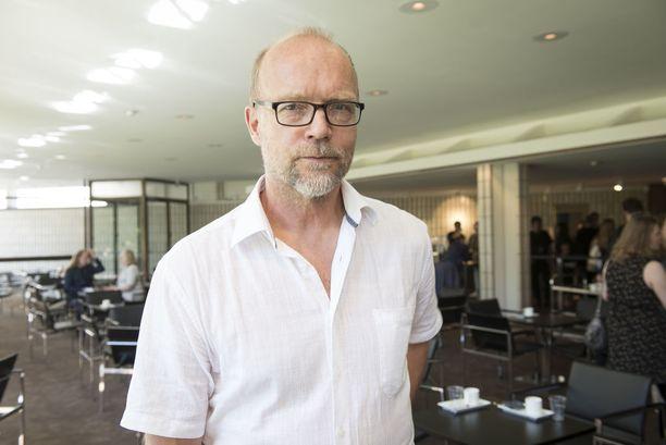 Kari Heiskanen kertoo olevansa historiaorientoitunut henkilö.
