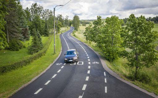 Espooseen avattiin täysin uudenlainen kylätie - osaisitko ajaa tällä tiellä?