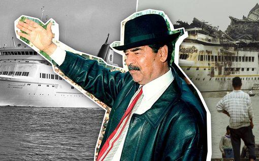 Ennennäkemättömät kuvat: tällainen luksusjahti rakennettiin Saddam Husseinille Turussa – yksi tilaajan toive jäi Jukan mieleen