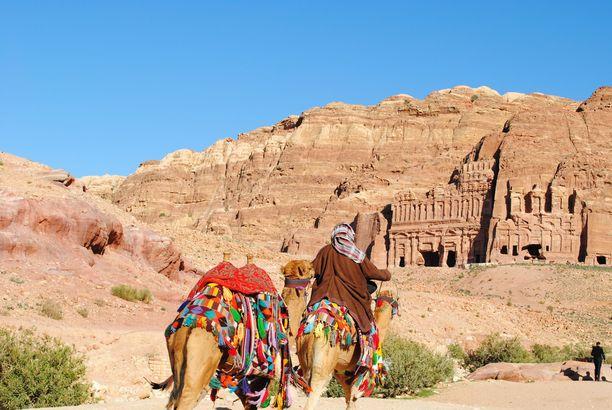 Petran rauniokaupunki on yksi Jordanian kuuluisimmista nähtävyyksistä.