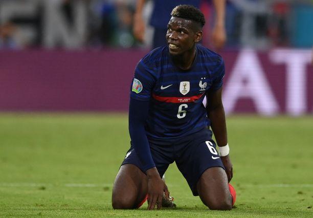 Paul Pogba pelasi tiistaina täydet minuutit Ranskan kaataessa Saksan maalein 1–0.