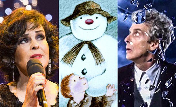 Paula Koivuniemi, Lumiukko ja Doctor Who ovat tämän joulun kasvoja.