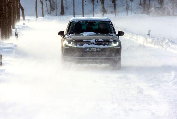 Saksassa on saatu lunta ja kärsitty pakkasista. (Kuvituskuva)