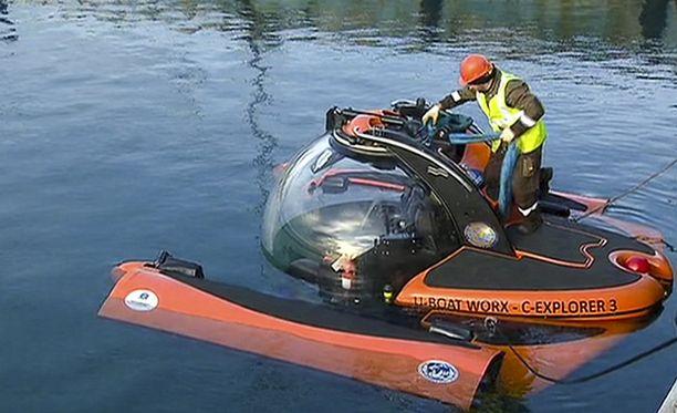 Etsinnöissä on käytetty myös pienoissukellusveneitä.