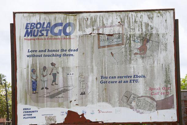 Vuonna 2014 Guineassa, Liberiassa ja Sierra Leonessa ebolaan kuoli yli 11 000 ihmistä.