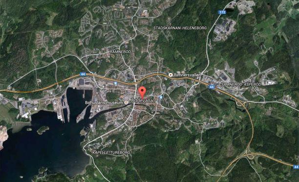 Uddevalla sijaitsee Länsi-Götanmaalla.