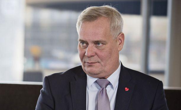 SDP:n puheenjohtaja Antti Rinne on näiltä näkymin sairauslomalla tammikuun ajan.