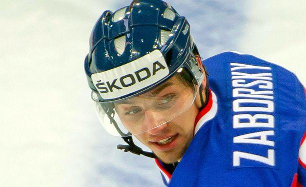Tomas Zaborsky saa perheenlisäystä.