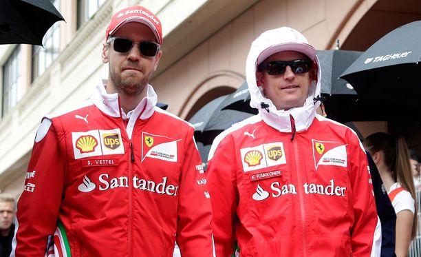 Ovatko Sebastian Vettel ja Kimi Räikkönen tallitovereita vielä ensi kaudella?