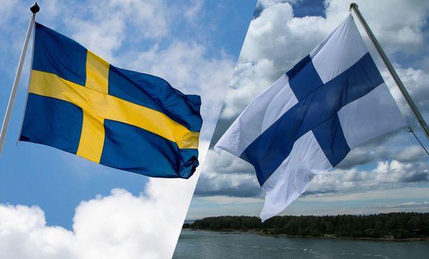 Hieman yli puolet suomalaisista myöntää, että olemme kateellisia ruotsalaisille.