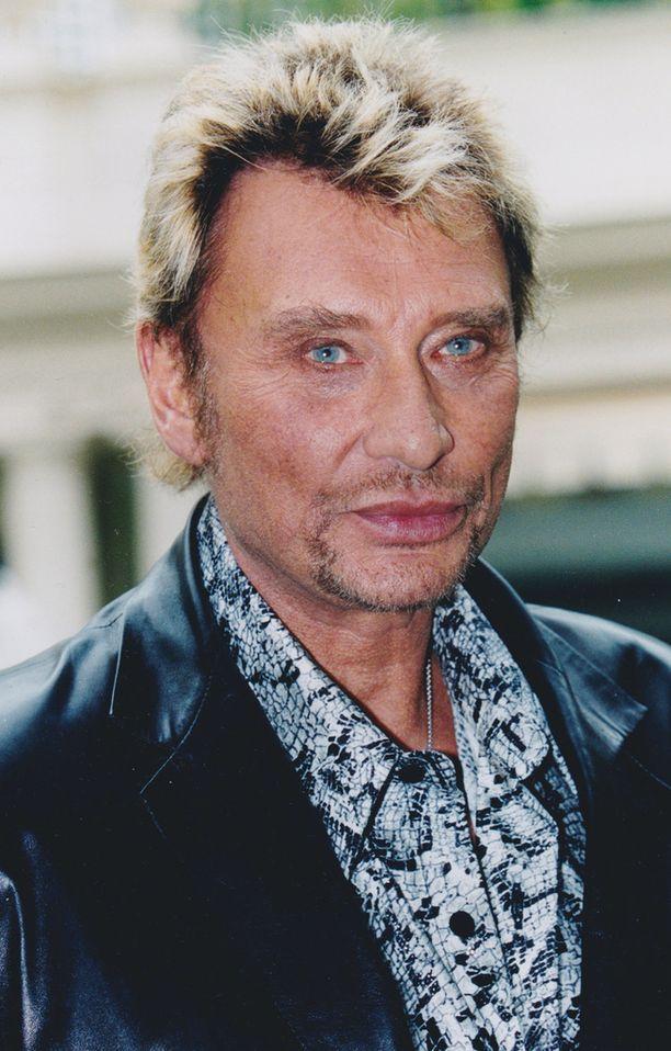 Johnny Hallydaytä kutsuttiin Ranskan Elvikseksi.