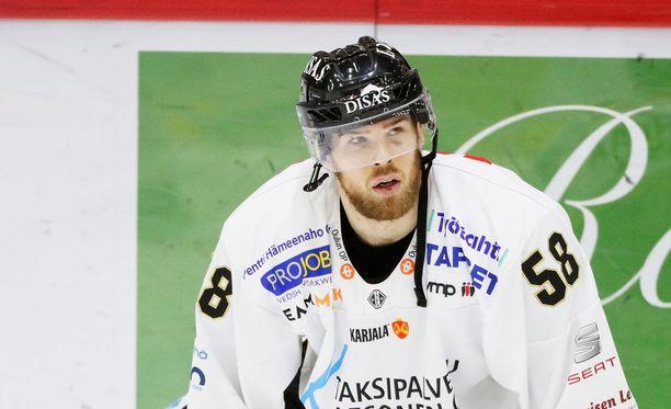 Jani Hakanpää on sivussa viidennestä finaalikohtaamisesta.