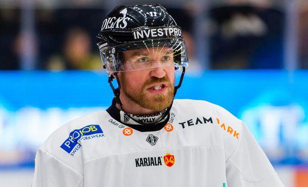 Jari Sailio iski kahdesti, kun Kärpät voitti Sportin 5-1 Oulussa.