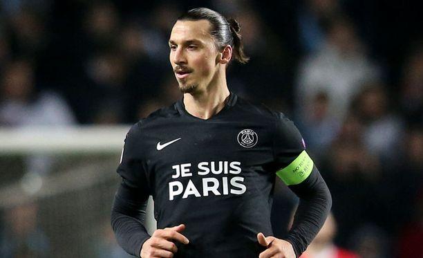 Zlatan Ibrahimovicilla oli suuri rooli molemmissa PSG-maaleissa.