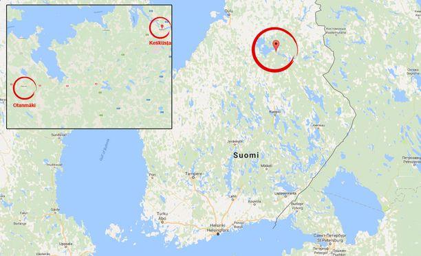 Poliisin mukaan henkirikos on tapahtunut Kajaanin Otanmäessä, mutta sen tarkemmin poliisi ei rikosepäilyä kommentoi.