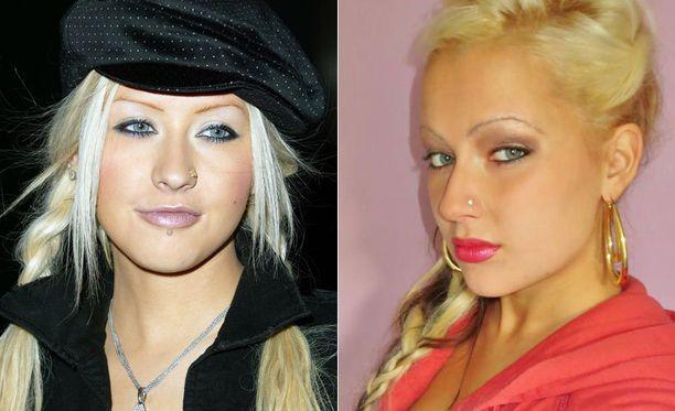 Christina Aguilera ja Anna