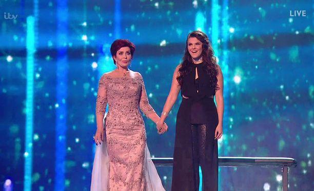 Saara Aalto saavutti X Factor -laulukilvassa toisen sijan.