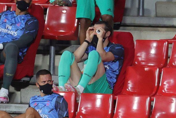 Gareth Balea on viime aikoina naurattanut vaihtopenkillä.