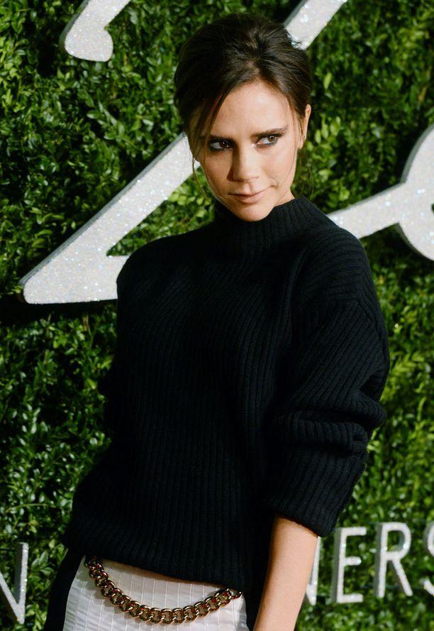 Victoria Beckhamin tavaramerkkiposeeraus.