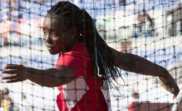 Daisy Osakuen on tarkoitus kilpailla Berliinin EM-kisoissa.