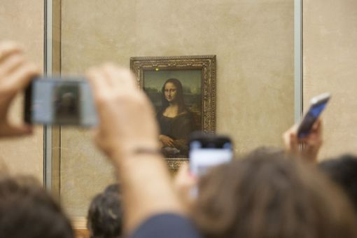 Mona Lisa olikin kuvissa ylväämpi kuin luonnossa.