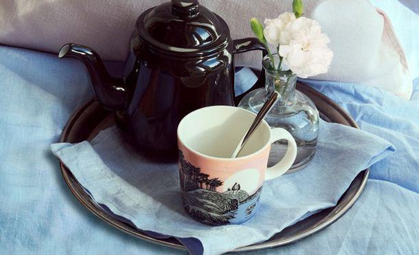 Jos kahvipöydässä tarjotaan kahvia tästä himoitusta mukista, ei kannata rikkoa sitä.
