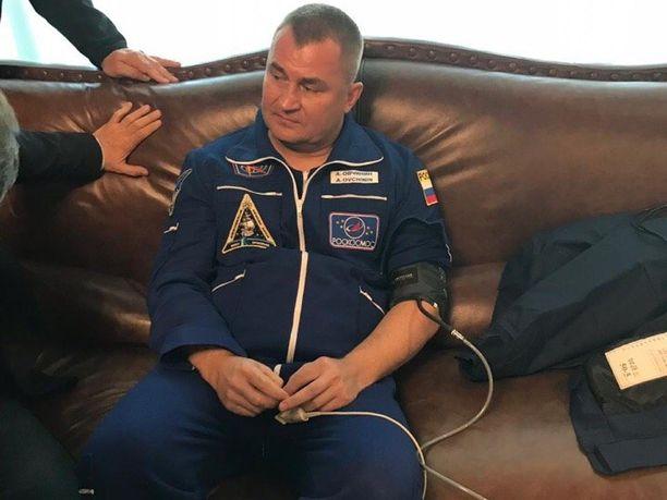 Alexei Ovtshinin on käynyt jo yhdellä komennuksella ISS:llä vuonna 2016.