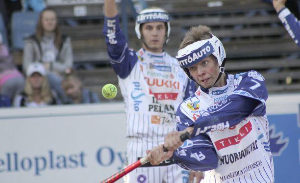 Elmeri Anttila on ollut tärkeä palanen Vedon pelissä.