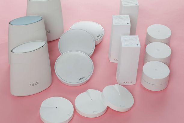 Testissä oli mukana kahdeksan eri laitetta.